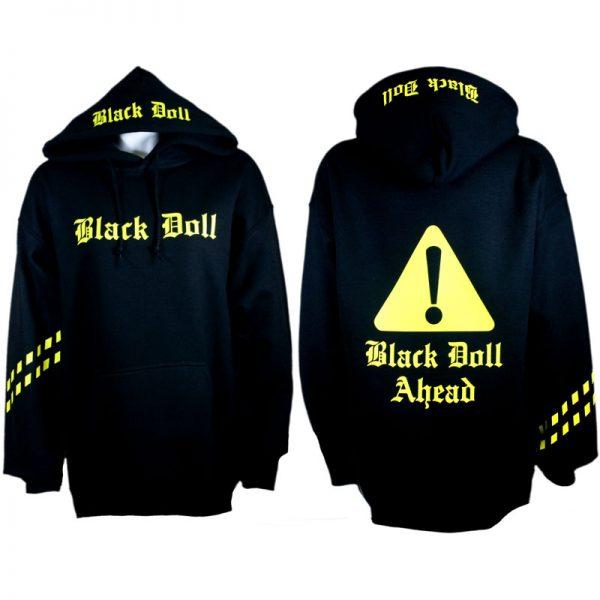 Black Doll Ahead Hoodie / Pullover